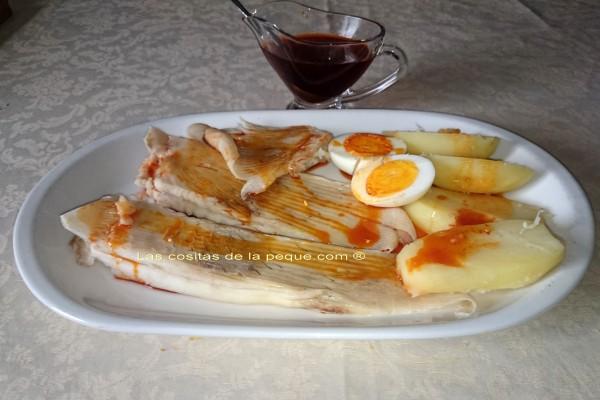 Raya a la gallega o en caldeirada las cositas de la peque for Cocinar raya a la gallega