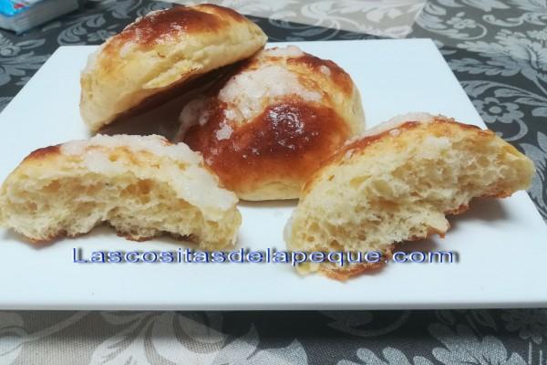 Bollos suizos para el desayuno(Thermomix)