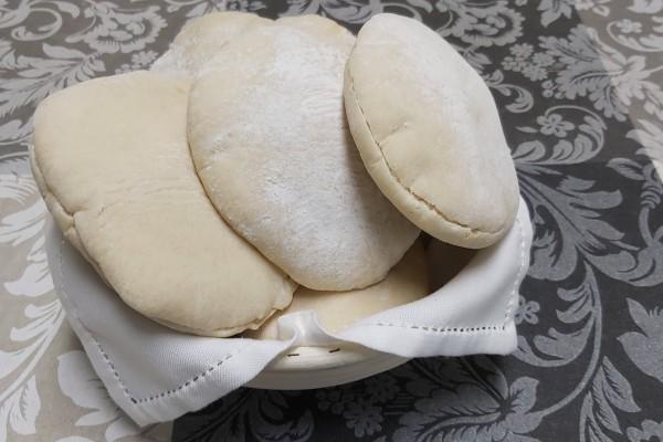 Pan de pita en thermomix