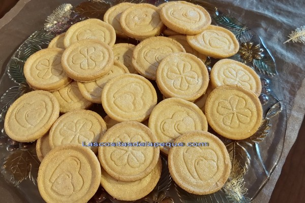 Galletas de mantequilla con sello en Thermomix
